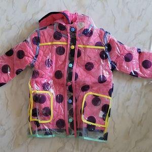 NWT Andy & Evan 3 in 1 jacket/raincoat